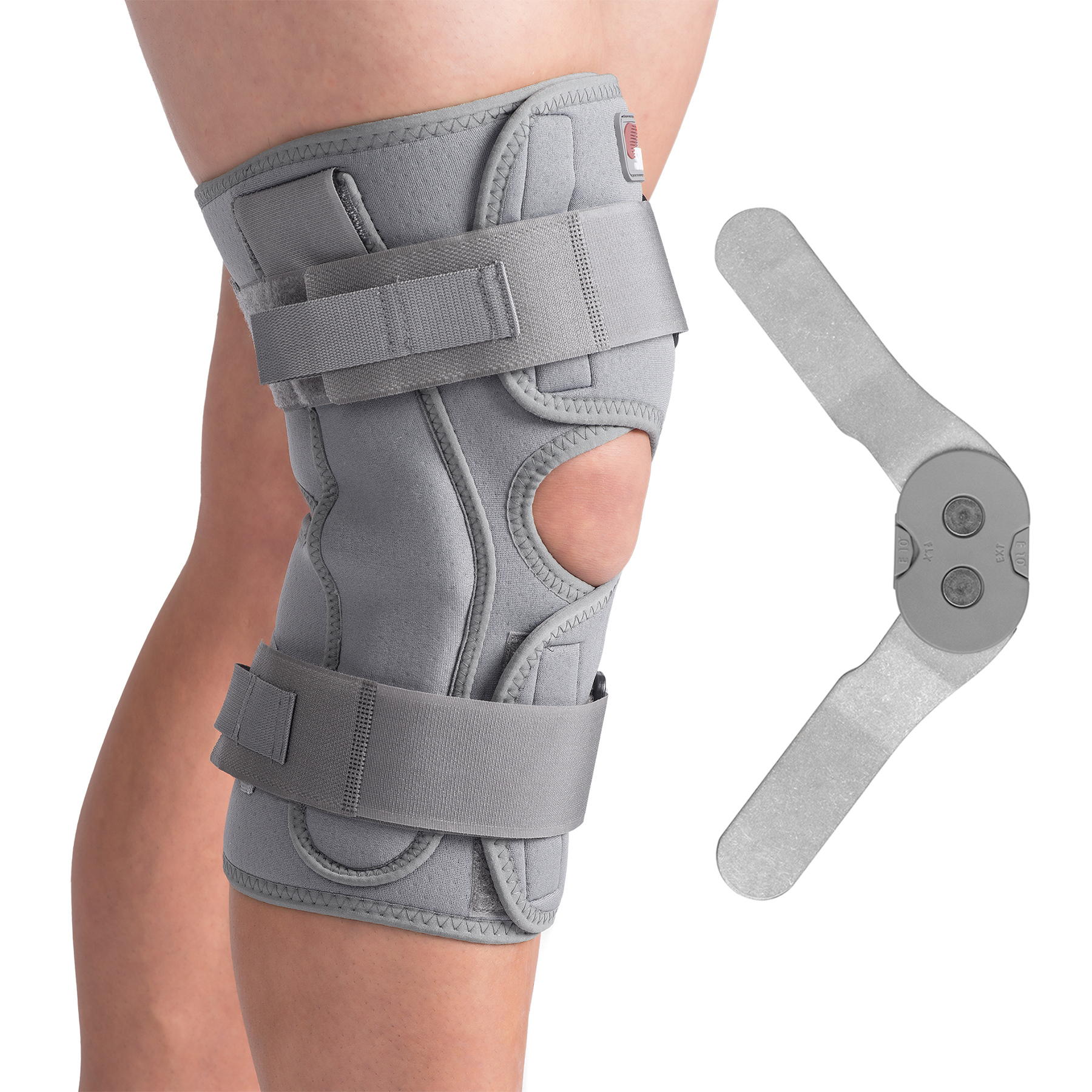 Thermal Open Wrap Rom Hinged Knee Brace By Swede O